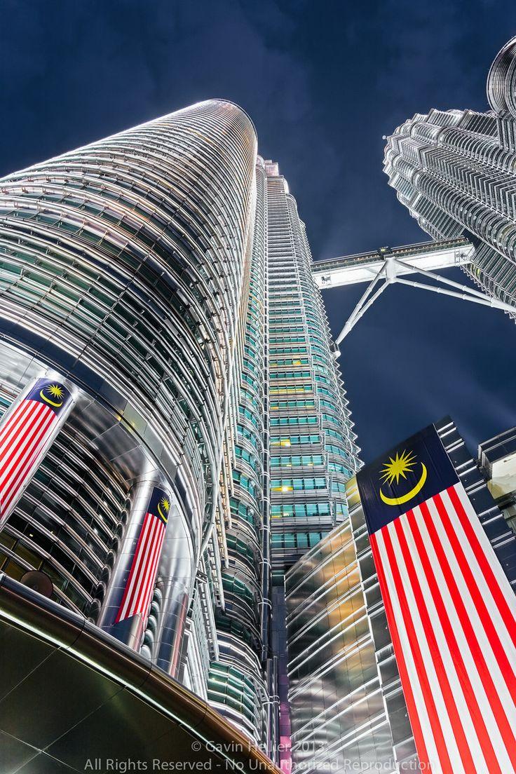 De Petronas Torens in Kualua Lumpur, Maleisie. https://www.hotelkamerveiling.nl/hotels/maleisie.html