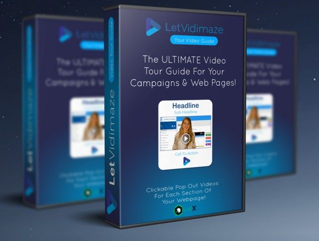LetVidimaze Pro Video Tour Guide Software by Kimberly de Vries