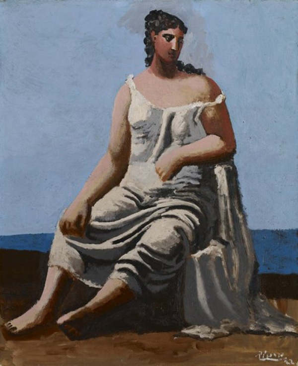Pablo Picasso, Woman by the Sea, 1922