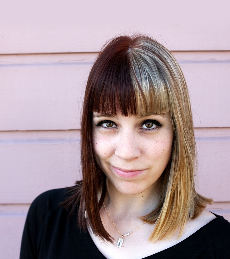 Brilliant 1000 Ideas About Two Toned Hair On Pinterest Ombre Color Hair Short Hairstyles Gunalazisus
