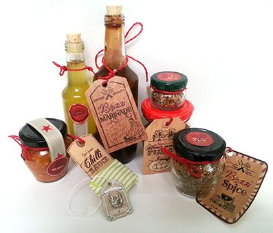 Gift basket for men or women including chef-made foodie presents for delivery to homes, hospitals and businesses in the Cape Town area.