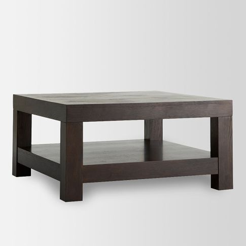Lovely Parsons Coffee Table   Chocolate | West Elm