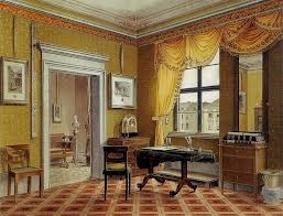German greek revival interior school history late for Greek interior design history