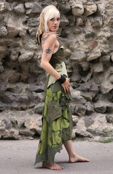 elvenforest skirt & top for girls and women