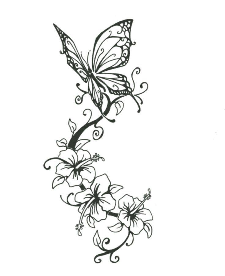 Blumenranken Tattoo 20 Schone Vorlagen Fur