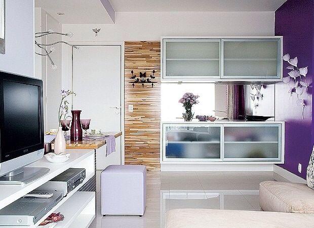 Sala clara e clean
