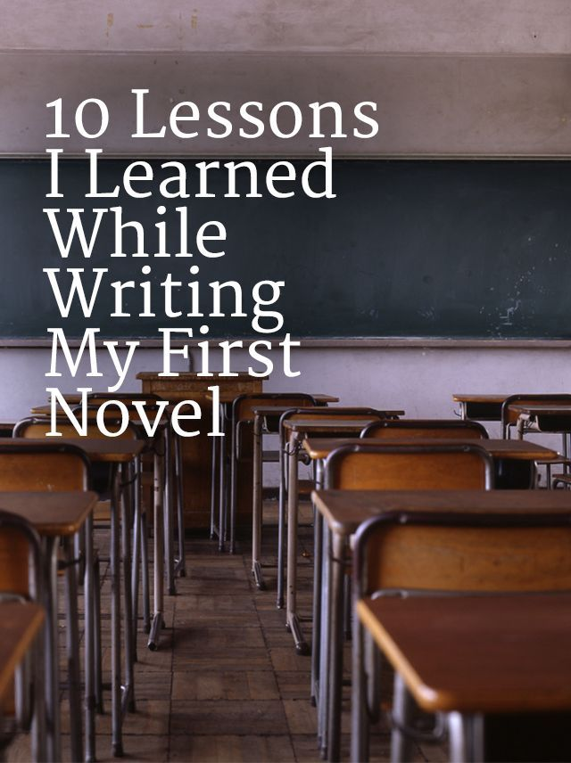 10 Lessons I Learned While Writing My First Novel | Learning lessons while writing your novel is something that's bound to happen, so here are a few this blogger learned while writing their book! Click through to see!