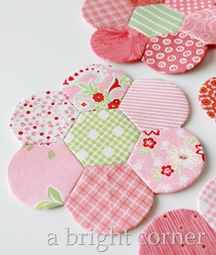 Hexdens and English Paper Piecing; heel leukdeze