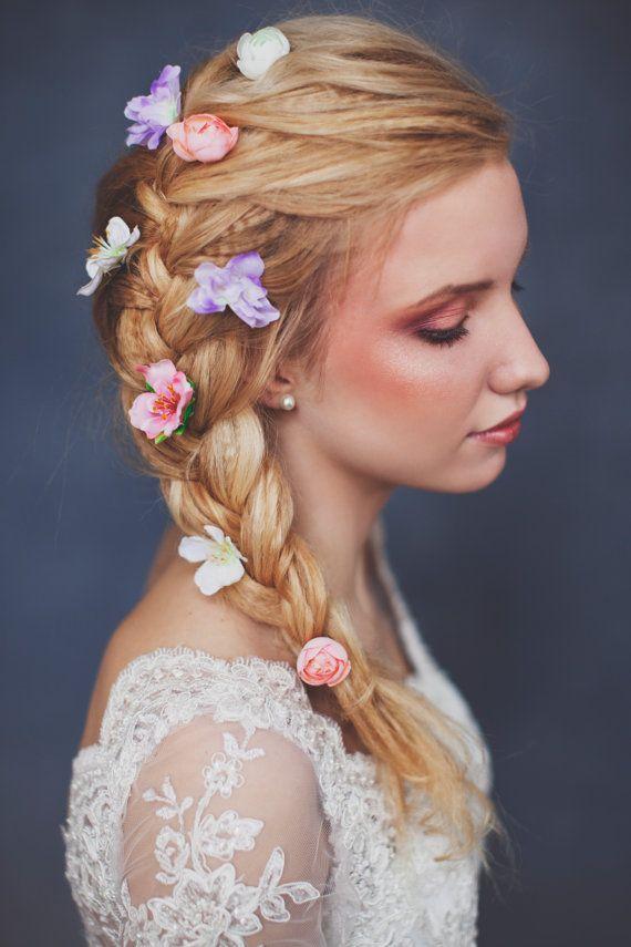 bloem haarspeld floral haarspeld, bruiloft haarspeld, bruids haarspeld, bloem haar pin, floral haar pin, bruids haar pin, bruiloft haar pin