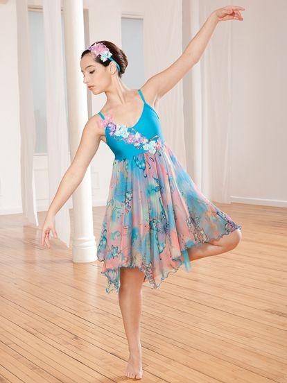 Butterfly - Style 0282 | Revolution Dancewear Contemporary/Lyrical Dance Recital Costume