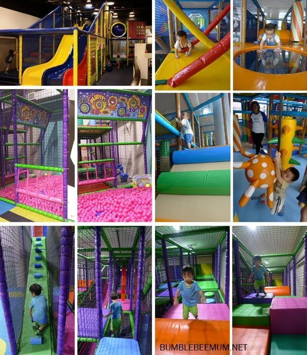 singapore indoor playgrounds for babies under 1 - active play