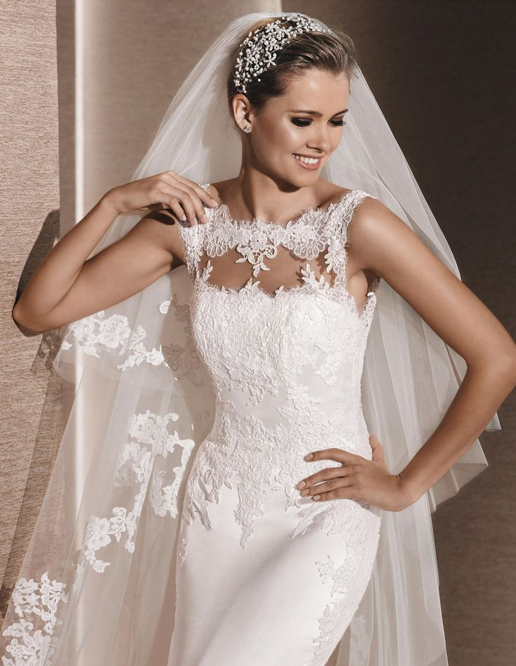 Lace Mermaid Wedding Dress Ireland : Best images about la sposa collections on
