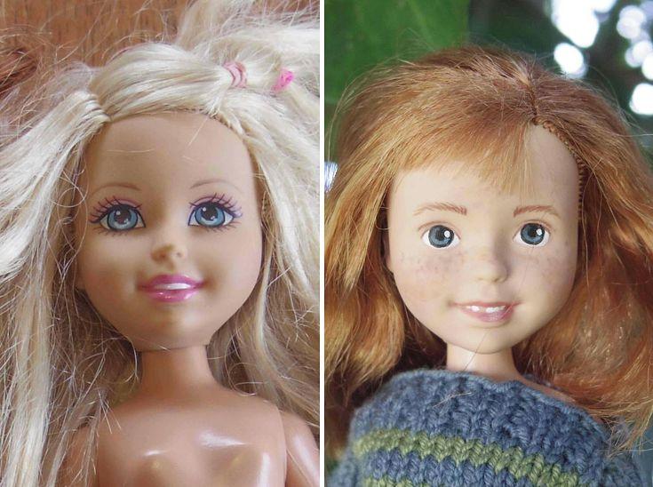 Australian Mom Turns Bratz Dolls Into Regular Girls By Removing Their Unrealistic Makeup