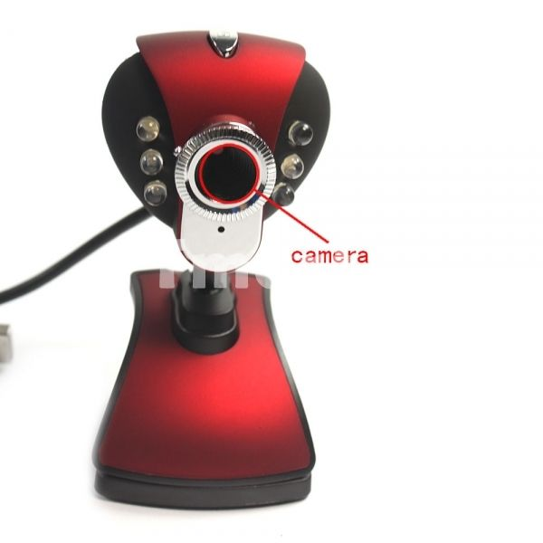 awesome 1.3MP Monkey King USB HD Webcam Web Camera with Microphone & LED - FROM 3.57 € (free shipping)