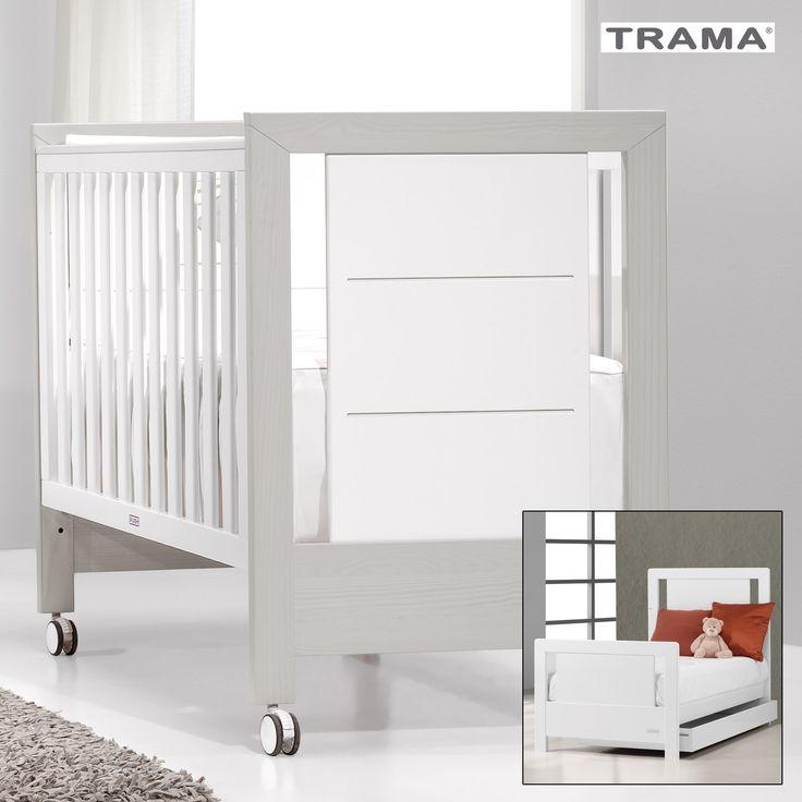 TRAMA Inova umbaubares #Kinderbett zum #Jugendbett mit Bettkasten