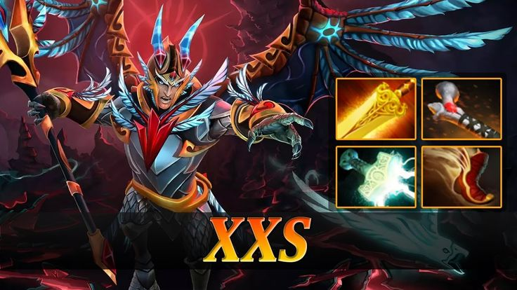 XXS plays Skywrath Mage with Mjolnir and Radiance | Skywrath Mage Fullgame