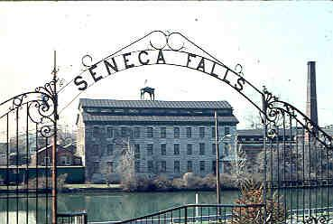 Seneca Falls, NY - site of the Seneca Falls Convention held in 1848, the first meeting to advocate women's rights