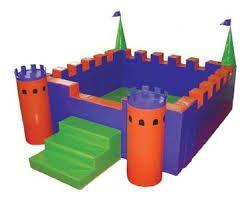 Kale Top Havuzu,KukaKids, Top Havuzları (Softplay),Ay Geliştirici Oyuncaklar - Anaokulu Donanımları, Anaokulu Mobilyaları