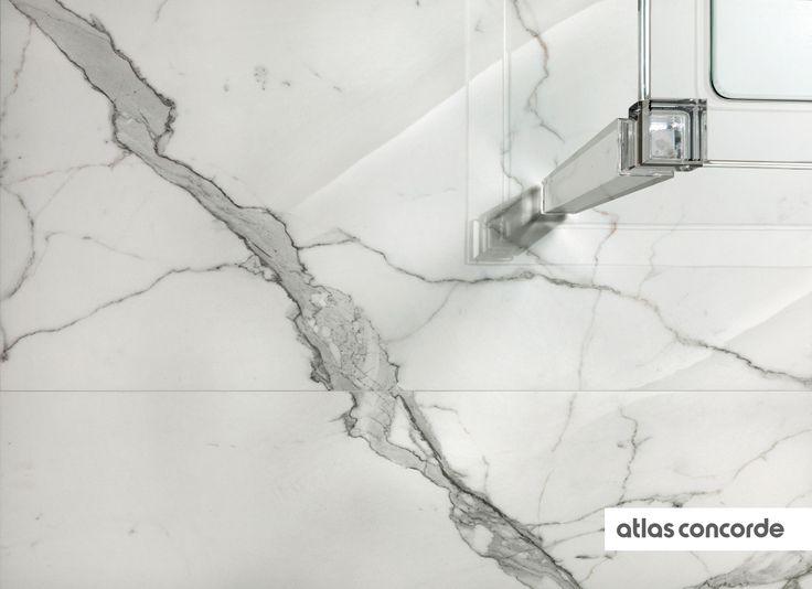 #MARVEL calacatta | #Floor design | #AtlasConcorde | #Tiles | #Ceramic
