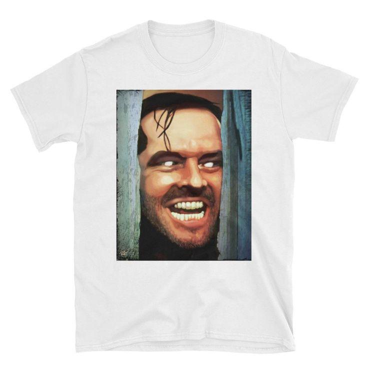 Jack Nicholson The Shining Stephen King Short-Sleeve Unisex T-Shirt