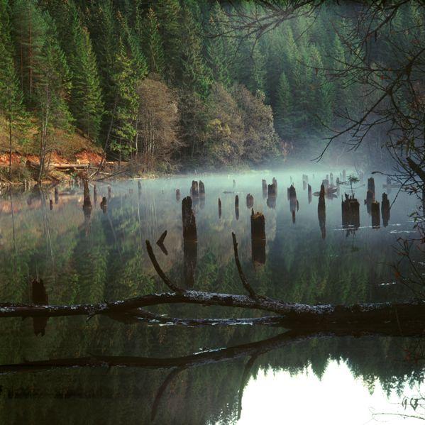 lacul Rosu ,Romania Cheile Bicazului