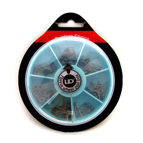 #UD #FerrisWheel #Coil #Box - 70! #Coils - Τώρα Μόνο με 29,90€ !! - Μία βολική συσκευασία με έτοιμα #microCoils για όσους θέλουν να τα δοκιμάζουν όλα χωρίς να σπαταλούν το χρόνο τους!  Η συσκευασία περιλαμβάνει:  10 x Coils Kanthal A1 0.5mm (24ga), 0.5Ω  10 x Coils Kanthal A1 0.4mm (26ga), 1.2Ω  10 x Coils Kanthal A1 0.4mm(26g