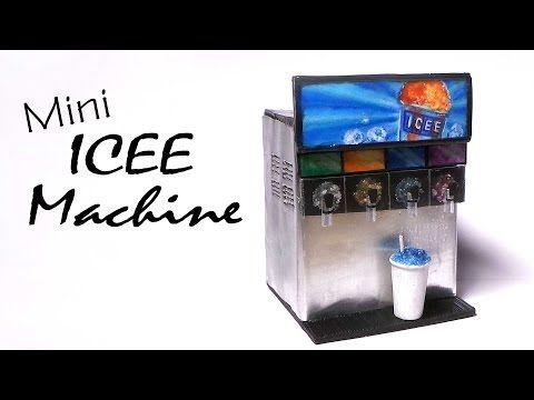 Miniature Slushie / Icee Machine - Polymer Clay Tutorial - YouTube
