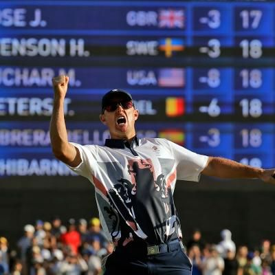 Sports: Great Britain Takes Gold in Mens Golf
