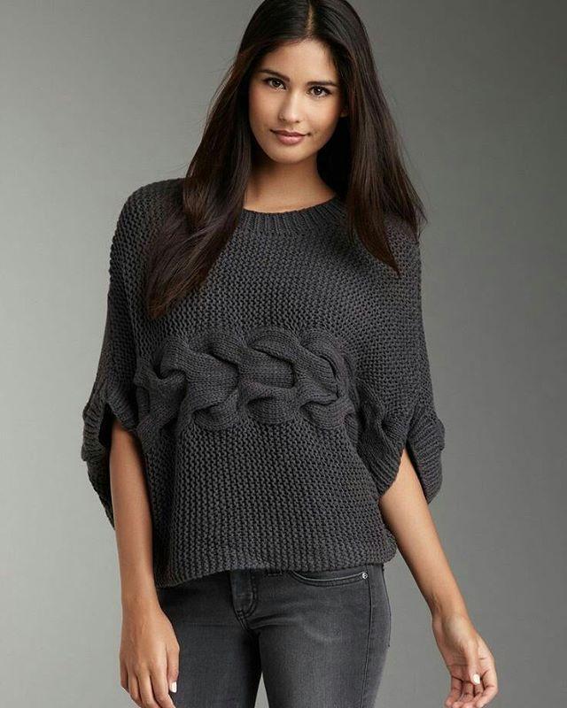 #sweater #knitsweater #knitting #instaknitting #patterns #inspiration #artesanato #autumne #yarnlove #gray #fashion #artesanato78 #вяжуспицами #связаноспицами #свитеркосами #серый #всевжизнисвязано #свитер #модноевязарие #осень #вязаниеспицами #мненравится #вдохновение #рукоделие