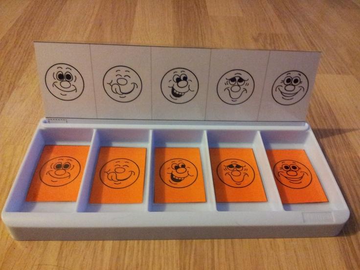 La classe de Laurène: Fiches boites à compter - Discrimination visuelle