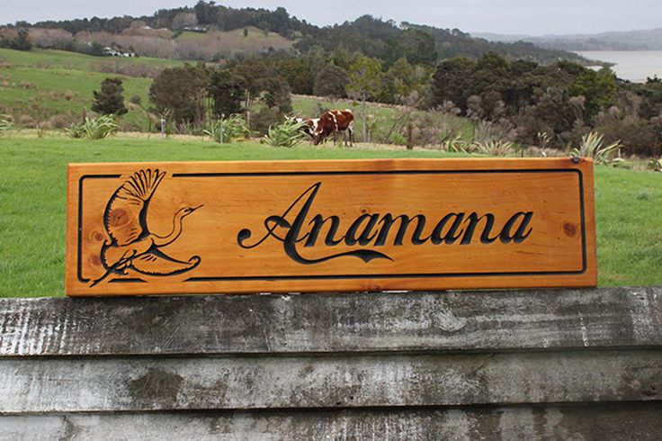 1200 x 300mm John & Jenny's beautiful sign, it is sand script meaning reflection