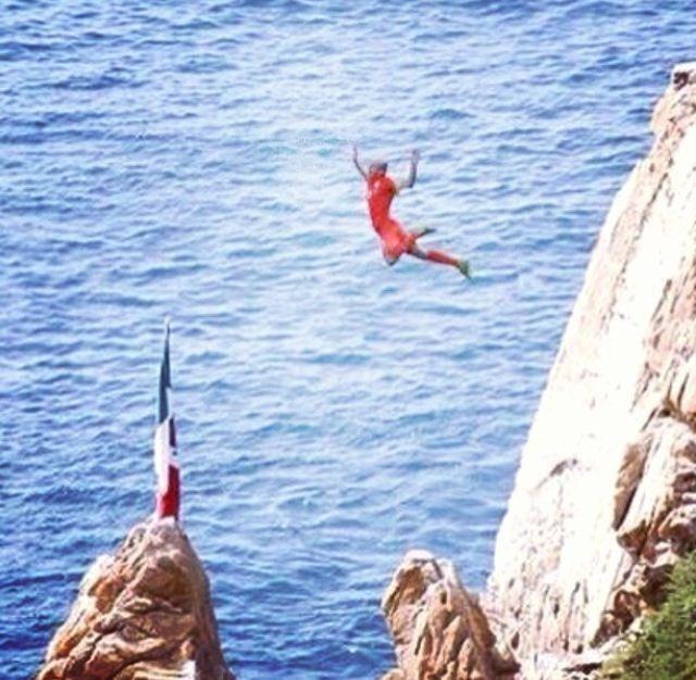 Arjen Robben de vacaciones en Acapulco lmao
