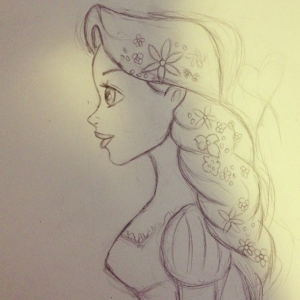 .@draw_4everr | My UNFINISHED drawing of rapunzel sooo far for @∞ Διόνυσος! Its NOT eve... | Webstagram - the best Instagram viewer
