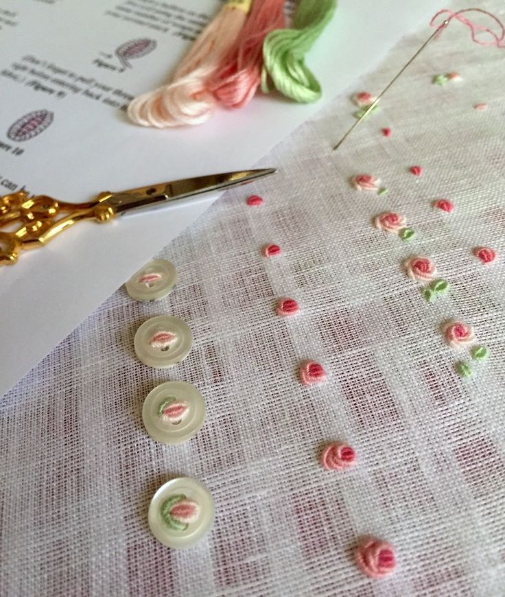 Using Bullion Stitch Embroidery Patterns Patterns Kid