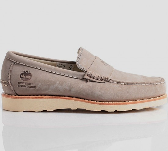 Stussy Deluxe X Timberland Loafer (Grey)