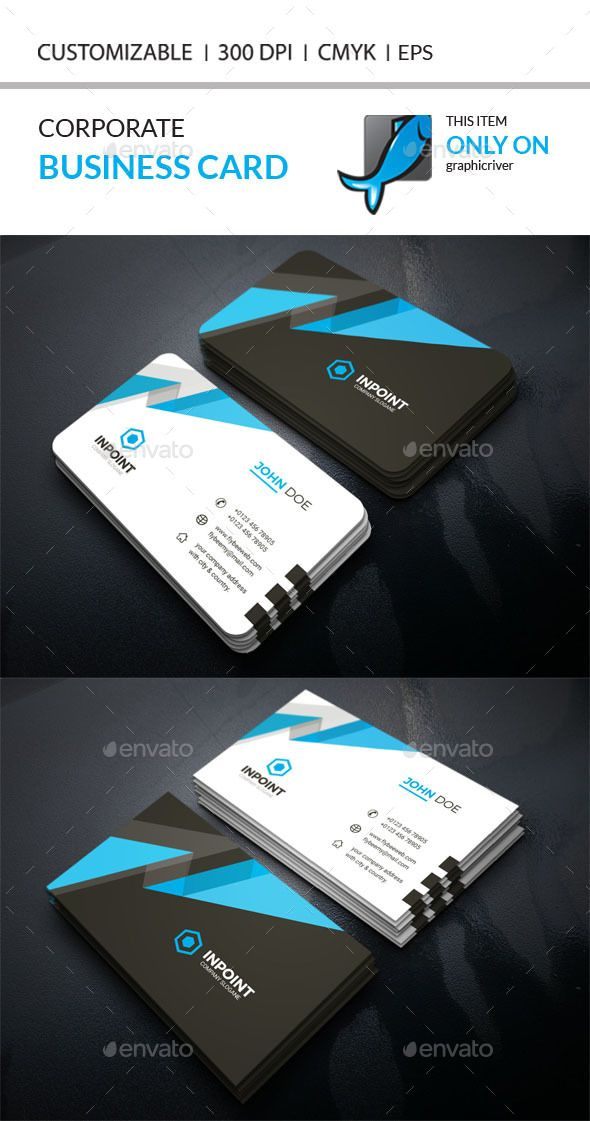 Creative Business Card Template EPS, AI #design Download…