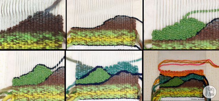 Weaving Hills on a Loom