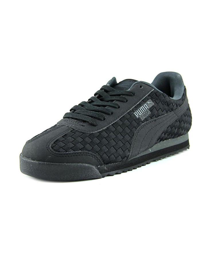 PUMA Puma Roma Weave Men Round Toe Canvas Sneakers'. #puma #shoes #