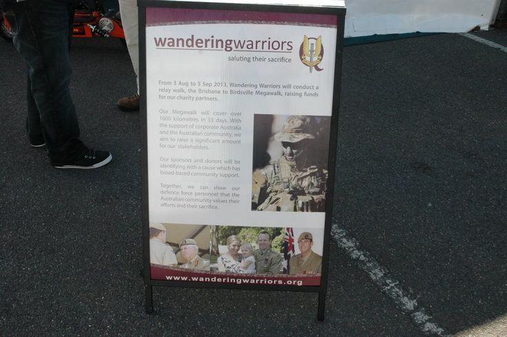 Wandering Warriors - A frame design