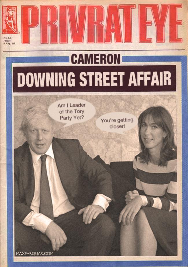 May 2013 : Downing Street Affair ?Andy Coulson Rebekah Brooks Wade David Cameron Boris Johnson Samantha Cameron info scandal crisis talks names funny photo leak