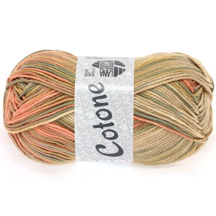COTONE print 313-beige / sand / camel / orange | EAN: 4033493150668