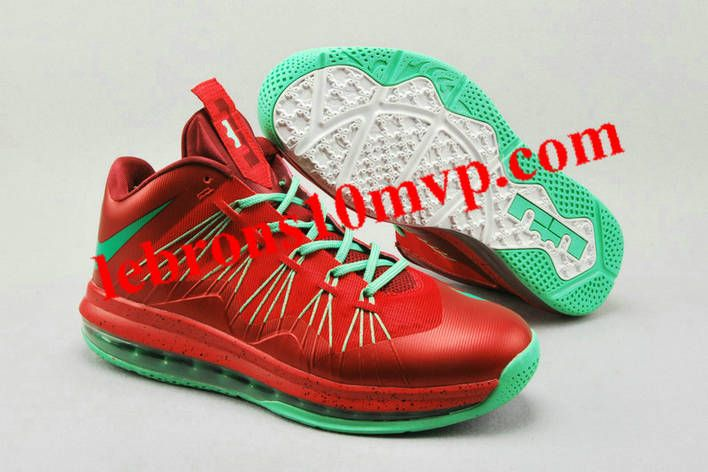 810e5fc245f wholesale online 6e9a4 82423 lebron x low christmas bright crimson atomic  teal nike shoes saleshoe