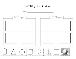 Printables 3d Shapes Worksheets For Kindergarten 1000 images about kindergarten math 3 d shapes on pinterest sorting 2d and 3d worksheetrepin bypinterest for ipad