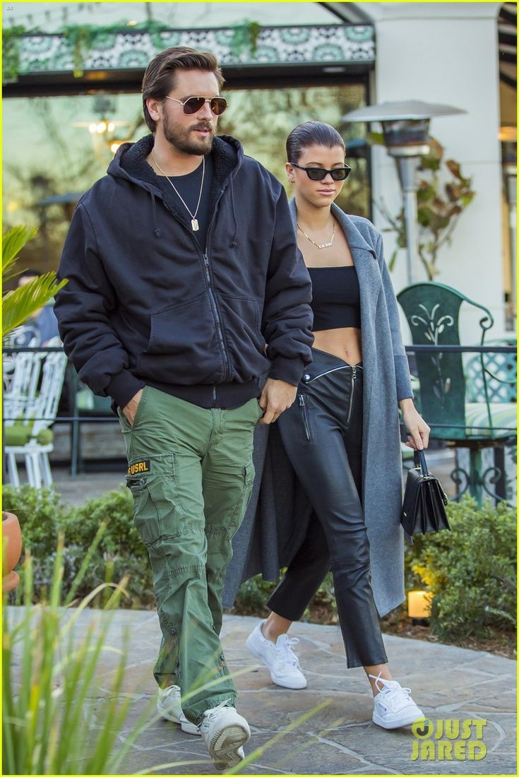 Scott Disick & Sofia Richie Couple Up for Dinner Date at Sugarfish