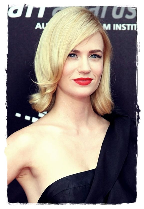 Celebrity Bob #Hairstyles to Inspire You - January Jones