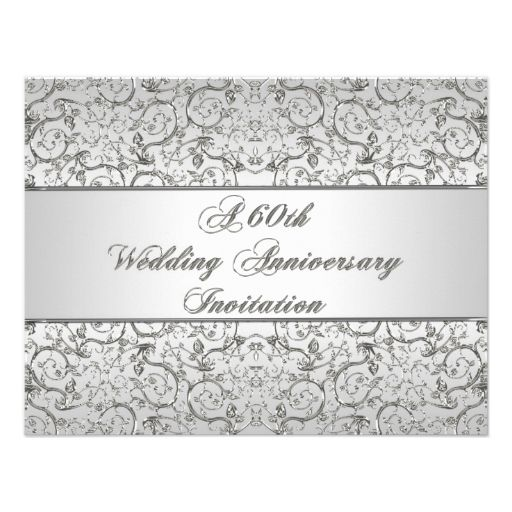 637 best 60th Anniversary Party Invitations images on Pinterest - best of birthday invitation card online maker