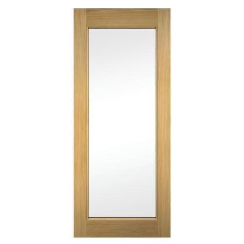 Oxford oak veneer exterior door 762mm external oak for External back door