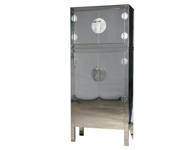 Stainless Steel Chinese Compound Cabinet