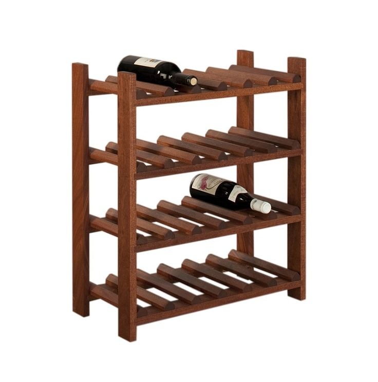 Large Wine Rack in Mahogany