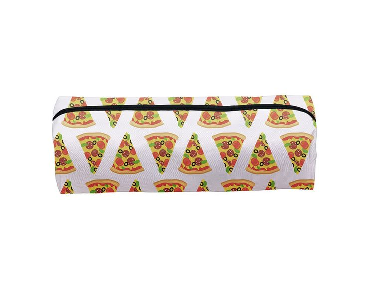 Pouches & Pencil Cases – PIZZA pencil case make up case school – a unique product by MoodyMood on DaWanda
